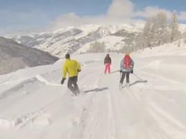 semaine ski de rando à Abriès (2013)