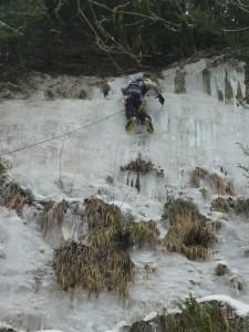 02 Découverte de l'escalade sur glace février 2015