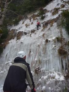 03 Découverte de l'escalade sur glace février 2015