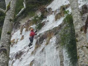 05 Découverte de l'escalade sur glace février 2015