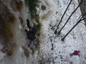 06 Découverte de l'escalade sur glace février 2015