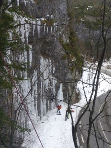 07 Découverte de l'escalade sur glace février 2015