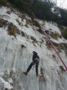 10 Découverte de l'escalade sur glace février 2015