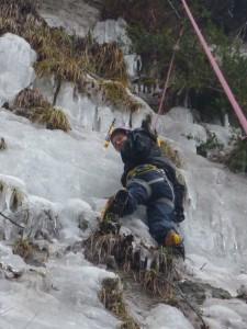 11 Découverte de l'escalade sur glace février 2015
