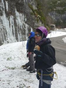 15 Découverte de l'escalade sur glace février 2015