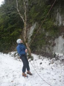 16 Découverte de l'escalade sur glace février 2015