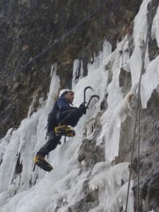17 Découverte de l'escalade sur glace février 2015