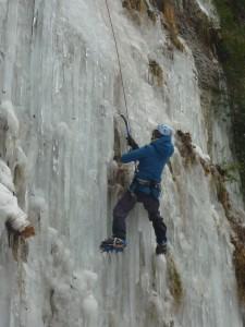 18 Découverte de l'escalade sur glace février 2015